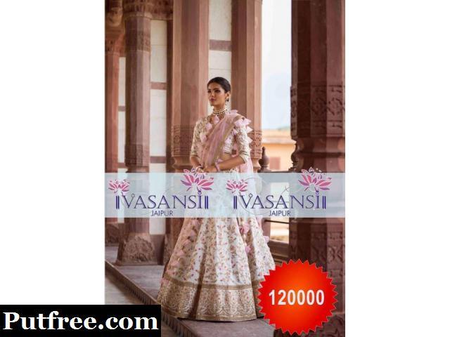 Vasansi Jaipur Stylish Designer Wedding Lehengas