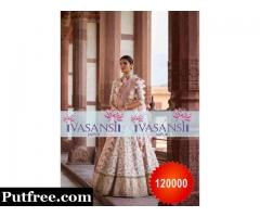 Vasansi Jaipur Stylish Designer Wedding Lehengas