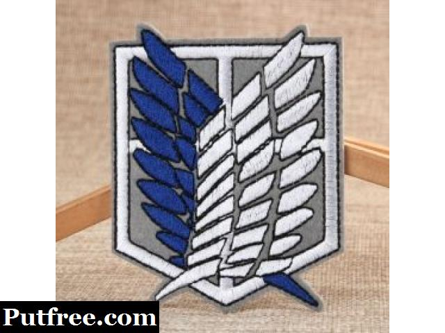 The Wings Of Freedom Best Custom Patches