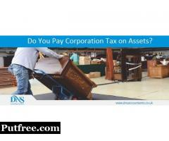 Do you pay corporation tax on assets?