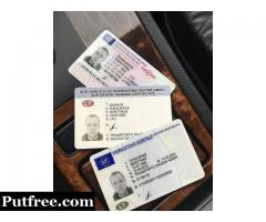 Buy Authentic USA  Green Cards Resident Permit  Drivers License ID Cards