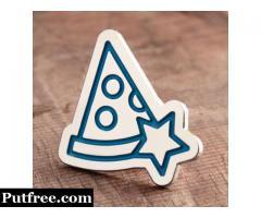 Pizza Custom Enamel Pins
