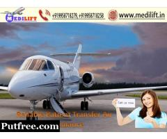 Get Deluxe Air Ambulance in Patna with Advanced Medical Facility