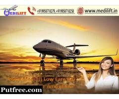 Use Full ICU Care Air Ambulance in Ranchi with Advanced Facility
