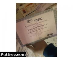 Obtain original toefl,ielts,toeic,Nebosh,CAE,without exam(globalproducer351@gmail.com)