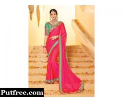 Shop For Pink Sarees That You Will Love To Wear