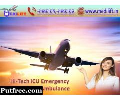 Superb and Reputed Air Ambulance Service in Ranchi with Doctor