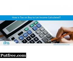 How is tax on Buy to let income calculated?