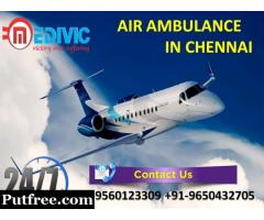 Hire Precise Emergency ICU Air Ambulance Service in Chennai by Medivic
