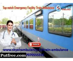 Pick Uncommon Medical Support to The patient by Sky Train Ambulance in Jamshedpur