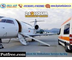 Pick Brand New Emergency Air Ambulance in Ahmedabad at Low Fare