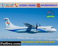 Chose Unmatched Commercial Air Ambulance Service in Amritsar with Expert Doctor
