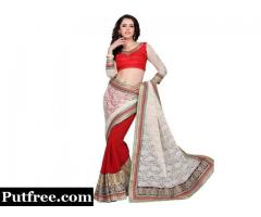 Buy Net Sarees At Reasonable Prices From Mirraw Online Store