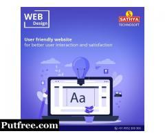 Web Design and Development In India | Sathya Technosoft