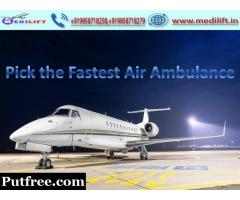 Receive Best Emergency Air Ambulance from Kolkata