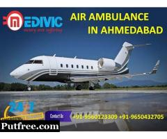 Select Leading Medical Support Air Ambulance Services in Ahmedabad by Medivic