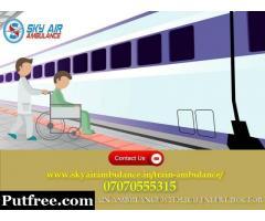 Utilize Low Fare Train Ambulance Service in Varanasi