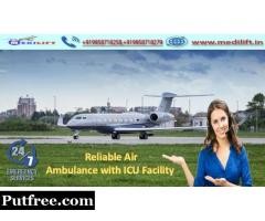 Medilift Air Ambulance Service in Chennai-Patient Feel Relax and Relief