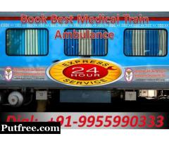 Get Best Emergency Train Ambulance Service in Kolkata at Economic Budget