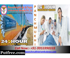 Get Best Emergency Train Ambulance Service in Mumbai by Panchmukhi