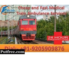 Get Falcon Train Ambulance Services in Allahabad – Anytime Patient Sifting