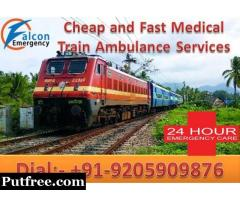 Get Safest Medical Train Ambulance Services in Kolkata by Falcon Emergency