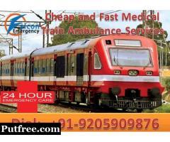Get Amazing ICU Train Ambulance in Guwahati by Falcon Emergency