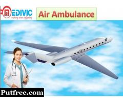 Get Credible Air Ambulance Service in Jamshedpur by Medivic Aviation with Doctor