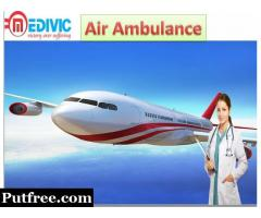 Air Ambulance Service in Silchar-Medivic-Aviation with MD Doctor