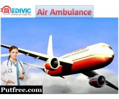 Best and Fast Air Ambulance Service in Gorakhpur by Medivic Aviation with Hi-tech Equipment,s