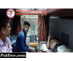 Get Comfortable and Reliable ICU Facility - Panchmukhi Train Ambulance Guwahati to Delhi