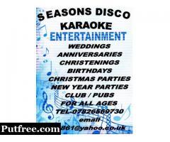 seasons disco and karaoke