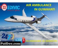 Get Fast Patient Transportation Service by Medivic Air Ambulance from Guwahati