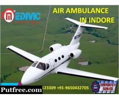 Avail Top-Level ICU Medical Features by Medivic Air Ambulance from Indore