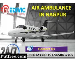 Take the Advantage of Hi-tech Service by Medivic Air Ambulance from Nagpur