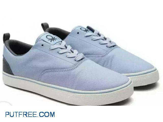 United Colors of Benetton Blue sneakers