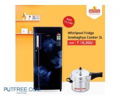 Buy Refrigerator Online | Whirlpool Refrigerators Online | Sathya Online Shopping