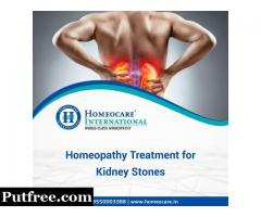 Kidney Stones Treatment In Homeopathy