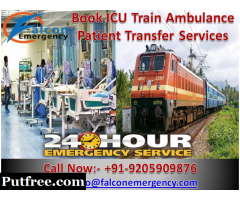 Get Affordable Train Ambulance in Ranchi with Unique Medical Equipment