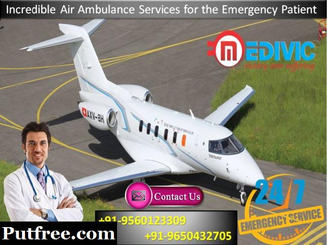 Avail Emergency Medical Help by Medivic Air Ambulance Services in Bhopal
