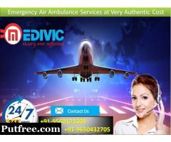 Use Complete ICU Setup by Medivic Air Ambulance Services in Delhi