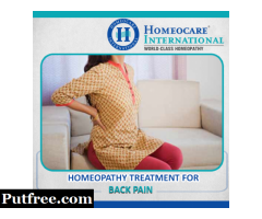 Homeopathy Treatment For Back Pain