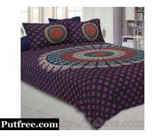 Buy Mandala Bedsheet online at Best Price