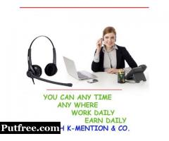 AD POSTING WORK ONLINE WORK AT HOME IN SILVASSA
