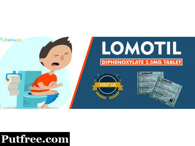 Lomotil Tablets Online for diarrhea