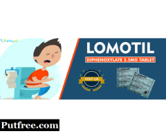 Lomotil Tablets Online for diarrhea