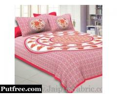 Furnish Your Bedroom with Printed King size Bed Sheet