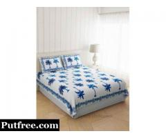 Purchase Online Cotton Satin Bed sheet