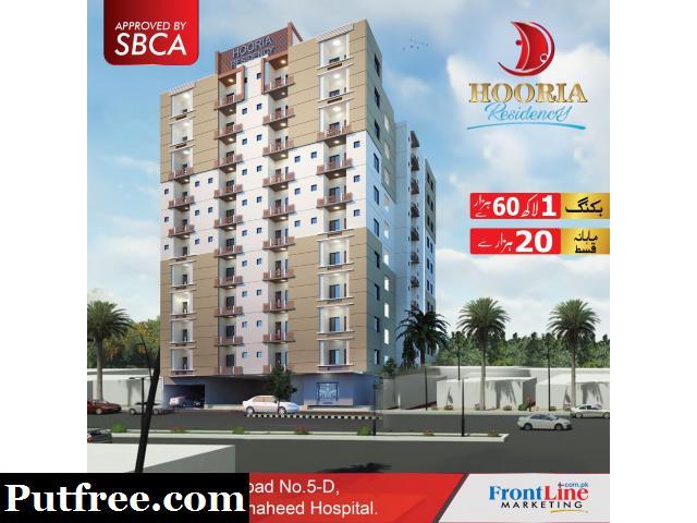 Hooria Residency | Flat For Sale in Nazimabad, Karachi