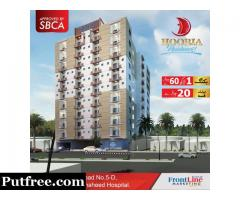 Hooria Residency | Flat For Sale in Nazimabad, Karachi